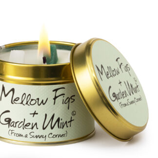 Mellow Figs & Garden Mint Candle Tin