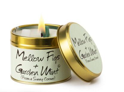 Mellow Figs & Garden Mint Candle Tin