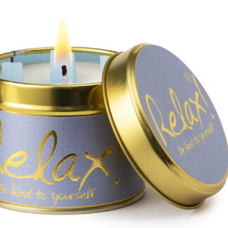 Relax Scented Candle Tin